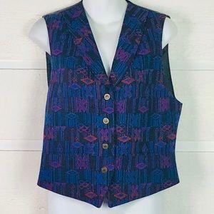 PENDLETON KNOCKABOUTS Vintage Southwest Vest